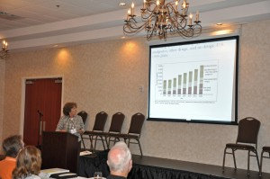 Dr. Angela Robertson speaks at MASEP Annual Meeting