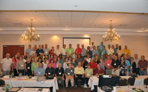 A photo of MASEP staff and facilitators at the annual conference.